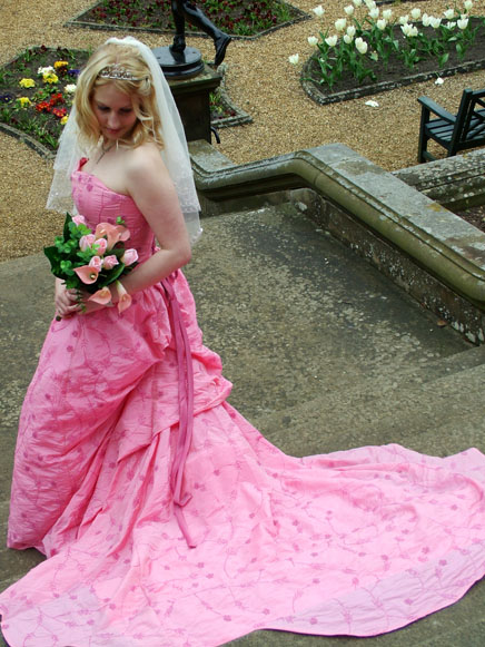 East Meets West – Pink Wedding